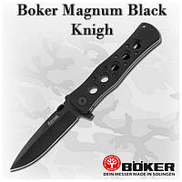 Складной нож Boker Magnum Black Knight (440A) 01MB220, клипса