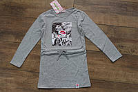 Туника- платье для девочек  4- 12 лет
