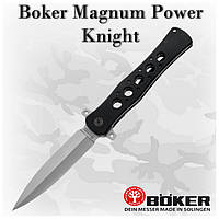 Складной нож Boker Magnum Power Knight (440A) 01MB221, клипса