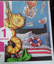 Наклейка, воздушный шар, звери, детская, дитячі  интерьерная Наш Декупаж, фото 3