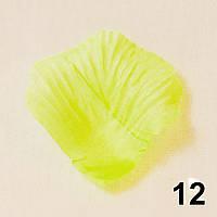 Искусственные лепестки роз (светло-зеленый) №12