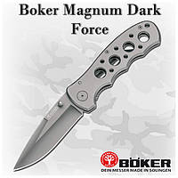 Складной нож Boker Magnum Dark Force (440A) 01RY935, клипса
