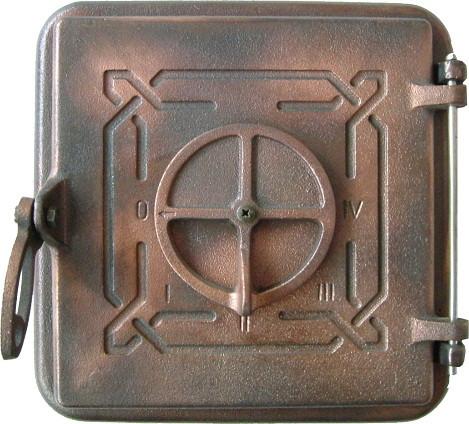 190050 Дверца печи чугунная Вамслер - ООО ЖАРКО - Первый Украинский Национальный Производитель каминных топок в Львове