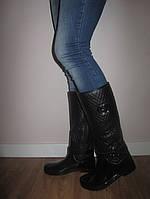 Высокие женские резиновые сапоги