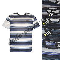 Мужская футболка с нагрудным карманом 101m (в уп. до 5 расцветок) оптом со склада в Одессе(7км).