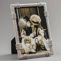 """Рамочка для фотографии """"Колечки"""" 14х19 см, для фото 13х18 см"""