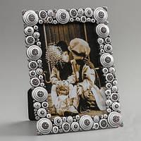 """Рамочка для фотографии """"Круги"""" 14х18 см, для фото 10х15 см"""
