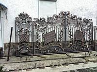 Ворота роспашные.Ручная робота