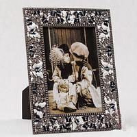 """Рамочка для фотографии """"Бабочки"""" 16х21 см, для фото 10х15 см"""