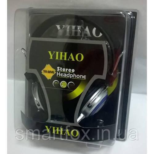 Наушники накладные с микрофоном Yihao YH-MV6