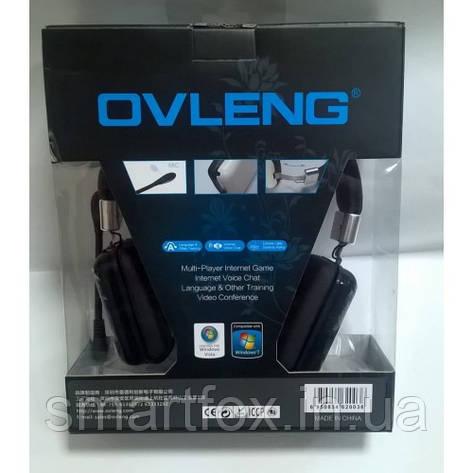 Наушники накладные с микрофоном Ovleng OV-2003MV, фото 2