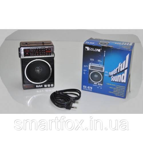 Радиоприёмник с USB GOLON RX-078