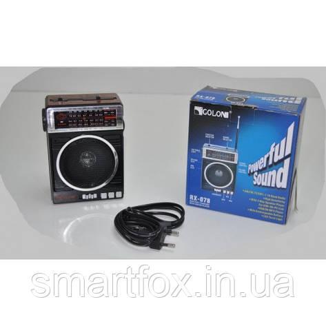 Радиоприёмник с USB GOLON RX-078, фото 2