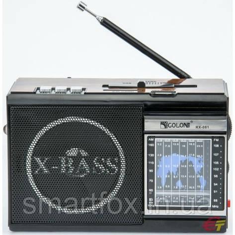 Радиоприёмник с USB GOLON RX-081, фото 2