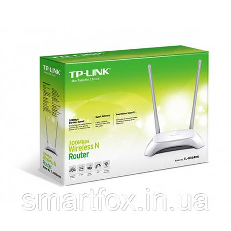 Роутер Wi-Fi TP-LINK TL-WR840N, фото 2