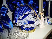 Подушечка для колец (синяя)