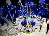 Подушечка для колец (синяя), фото 2
