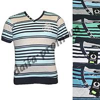Мужская котоновая футболка №352 (в уп. до 5 расцветок) оптом со склада в Одессе(7км).