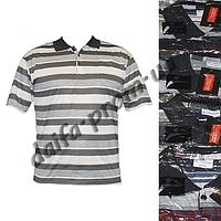 Мужская футболка поло с нагрудным карманом A02k (в уп. до 5 расцветок) оптом со склада в Одессе(7км).