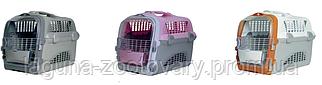 Пластиковая переноска 5078 для собак, кошек, мелких грызунов до 6кг