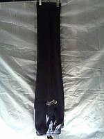 Спортивные штаны мужские утепленные прямые трикотажные на флисе