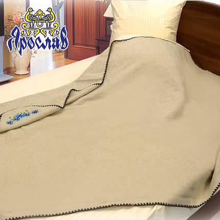 Одеяло шерсть/лен, 140х205 см ТМ Ярослав, фото 2