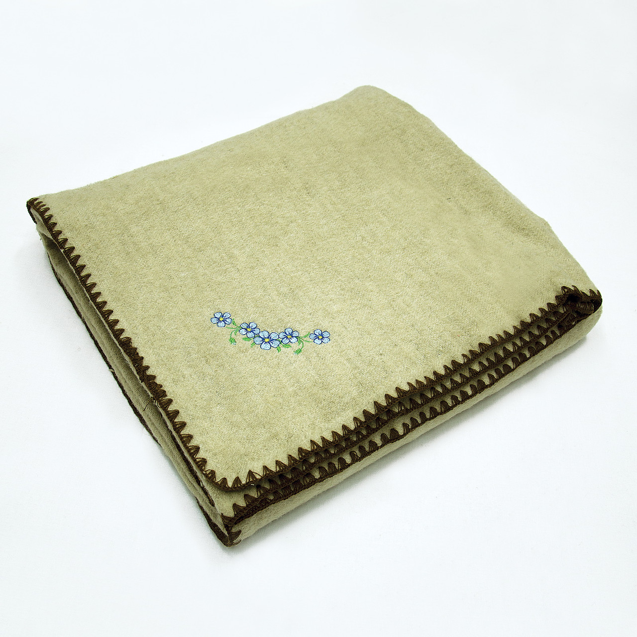Одеяло шерсть/лен, 140х205 см ТМ Ярослав