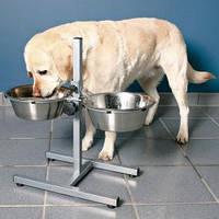 Trixie TX-24923 Стойка с 2-мя мисками для собак 2 х 4,5 л .