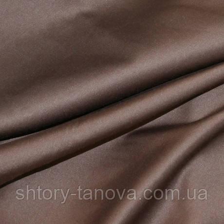 Скатертная ткань с пропиткой САТИН СВ.КАШТАН ВГПР. Пошив банкетного и ресторанного текстиля