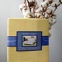 Простынь махровая на резинке 140х200, фото 1