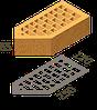 Кирпич клинкерный фасонный Керамейя Клинкерам  250x120x65 мм Магма Диабаз 36%, фото 7