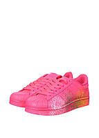 Кроссовки женские Adidas Superstar Supercolor PW Paint Art Pink (адидас) розовые