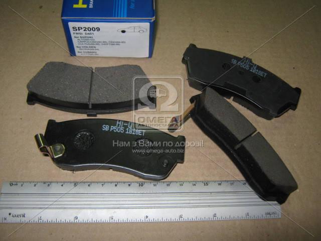 Колодка торм. SUZUKI SWIFT -98 передн. (пр-во SANGSIN) SP2009