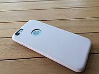 Ультратонкий чехол-накладка для iPhone 6 beige