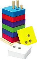 Пірамідка квадратна МДИ Д035, фото 1