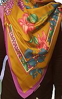 Платок брендовый Laporte натуральный шёлк