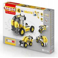 ENGINO PICO BUILDS Конструктор Строительная техника, 4 модели, № PB14