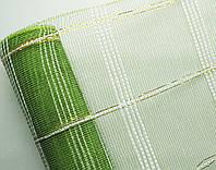 Сетка флористическая Check mesh шотландка фисташка