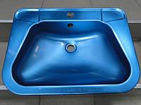 Умывальник из нержавеющей стали накладной Basins - RS72, фото 1