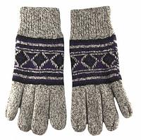 Перчатки Мужские Вязанные шерстяные купить купить оптом в Одессе на 7км