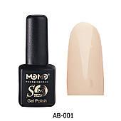 Гель лак Mono Professional 7 мл №AB-001