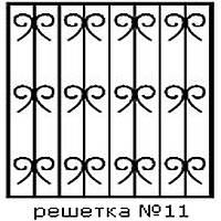Кованая решетка 11