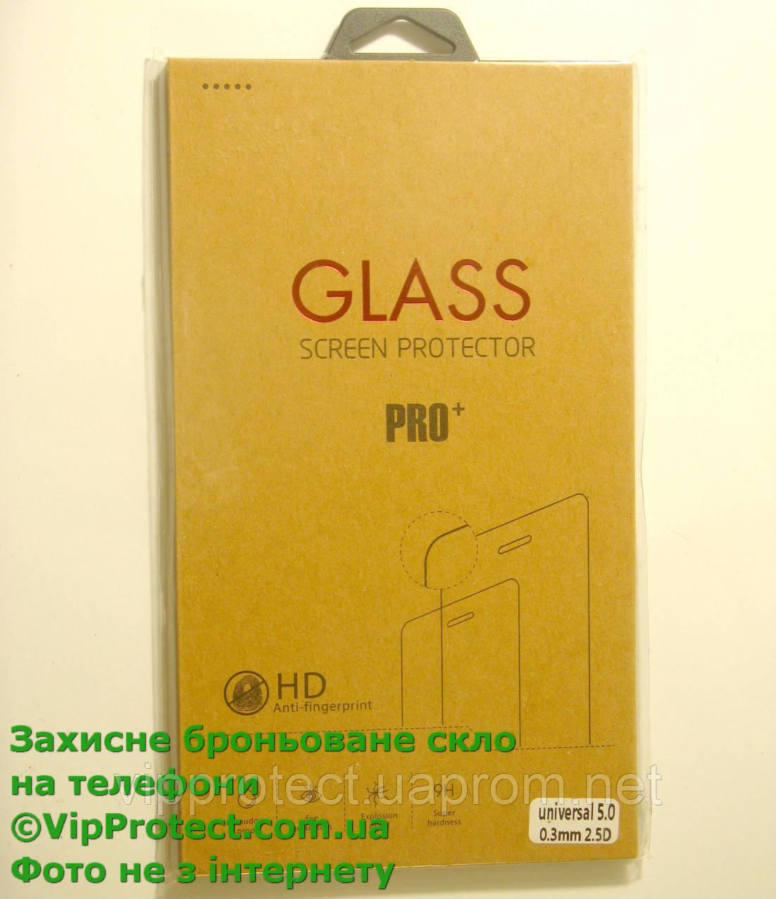 Универсальное 5,0дюйма защитное стекло 67*137 мм