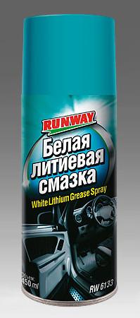 Белая литиевая смазка (аэроз) Runway