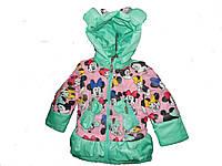 """Демисезонная куртка - жилетка на девочку """"Мини"""""""