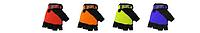 Перчатки для фитнеса MATSA MA-4906-S (PVC, PL, открытые пальцы, р-р S, цвета в ассортим.) (шт.)