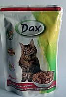 Dax корм для кошек со вкусом говядины 100g Венгрия