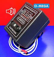 Терморегулятор ТРЦ-1,2 O-MEGA цифровой для инкубатора со звуковым оповещением, фото 1