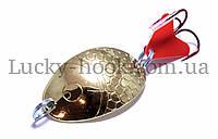 Блесна Spinnex Splake 12g (gold)
