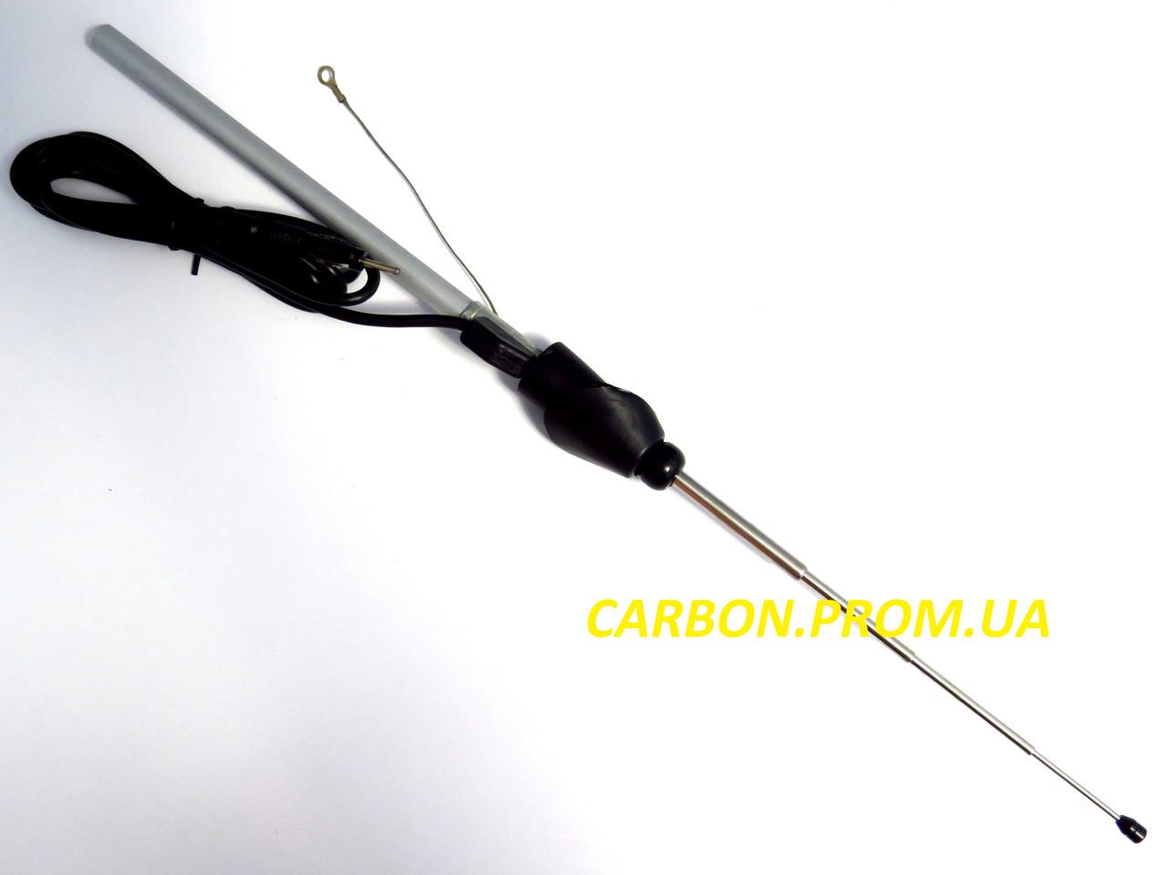Автомобильная универсальная антенна JBA 529 Jinbo в комплекте с переходниками под любой угол наклона крыла